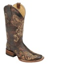 L5079 Women's Corral Dragonfly Embroidered Cowboy Boot