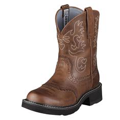 14930 Women's Ariat Fatbaby Saddle Roper Cowboy Boot
