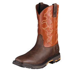 10005888 Men's Ariat Workhog Square Toe Tall Work Boot