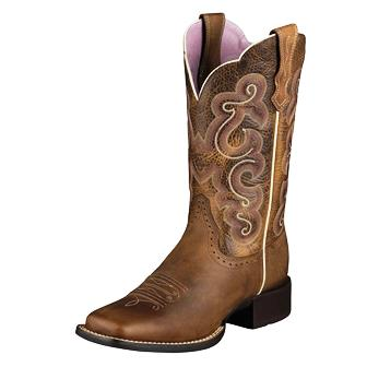 "10006304 Women's Ariat Quickdraw 11"" Roper Cowboy Boot"