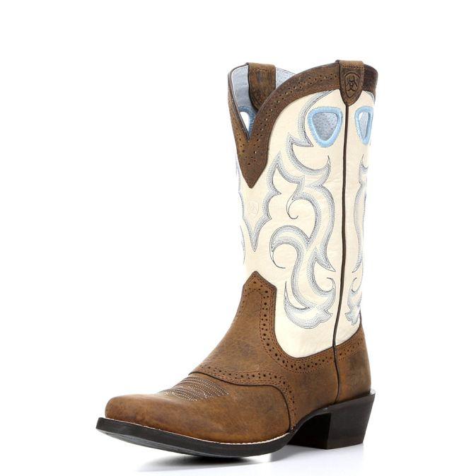 f8cd8cc9b08 10006885 Women s Ariat Rawhide Square Toe Cowboy Boot