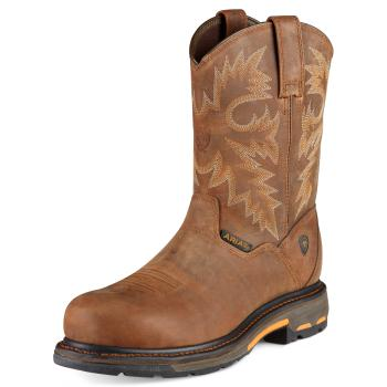 10007925 Men's Ariat Workhog Pull-on Composite Toe Work Boot