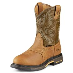 10008633 Men's Ariat Workhog Pull-on H2O Work Boot