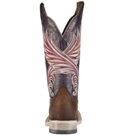 10010176 Women's Ariat Fortress Roper Square Toe Cowboy Boot