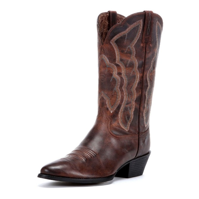 10010266 Women's Ariat Heritage Western R-Toe Cowboy Boot