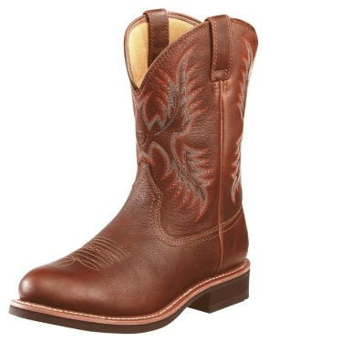 10010293 Men's Ariat Heritage Stockman H2O Waterproof Roper Boot