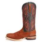 10010789 Men's Ariat Ranchero Ostrich Square Toe Cowboy Boot