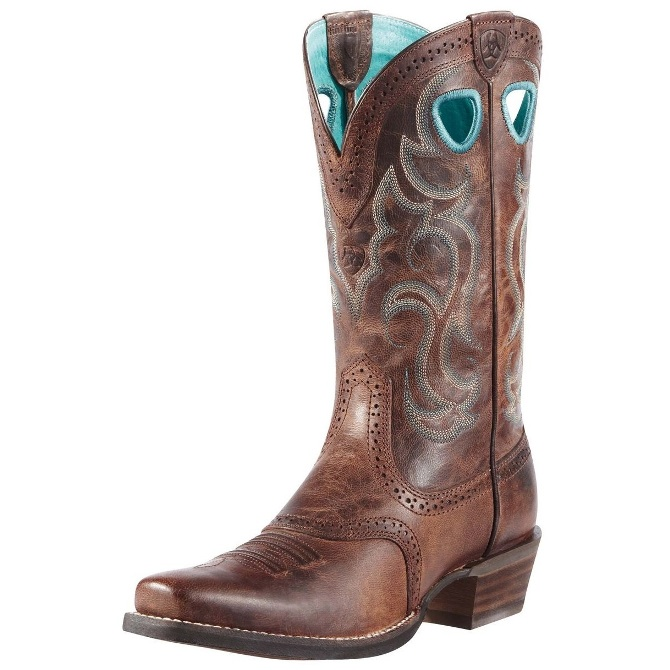 10010936 Women's Ariat Rawhide Cowboy Boot