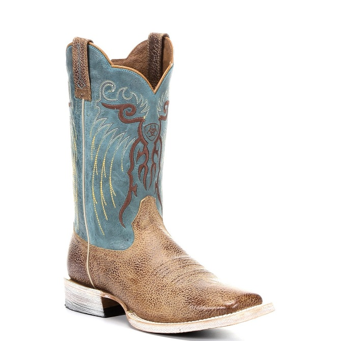 10010935 Men's Ariat Heritage R Toe Cowboy Boot