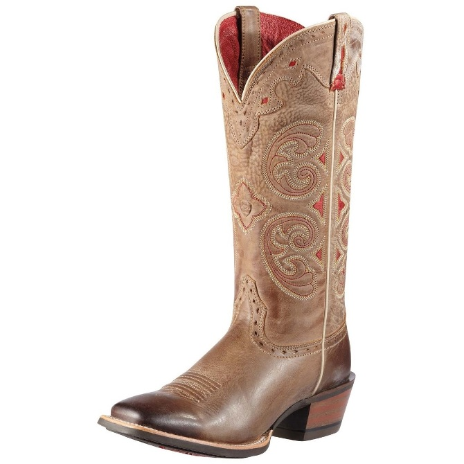 10010951 Women's Ariat Madrina Dark Macchiato Cowboy Boot