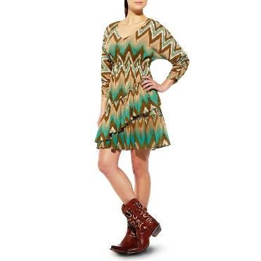 10011555 Women's Ariat Tiered Dress