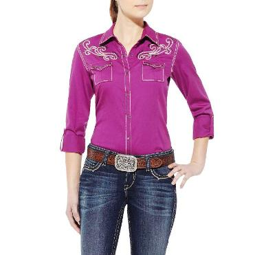 10011570 Women's Ariat Betty Long Sleeve Shirt