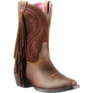 10011908 Girl's Aiat Fancy Cowboy Boot