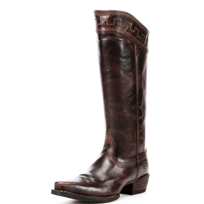 10011941 Women's Ariat Sassy Brown Snip Toe Sahara Boot