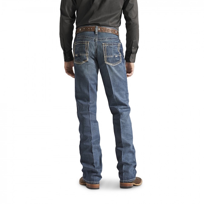 10012136 Men's Ariat M4 Boundary Gulch Low Rise Boot Cut Jeans