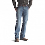 10012136 Men's Ariat M4 Boundary Gulch Low Rise Boot Cut Jean
