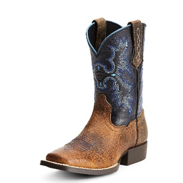 10012794 Kid's Ariat Tombstone Roper Cowboy Boots