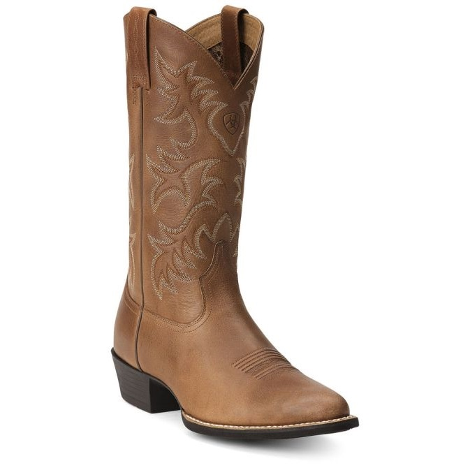 10012840 Men's Ariat Western Heritage R Toe Cowboy Boot