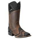 10004044 Men's Ariat Catalyst Black and Brown Cowboy Boot