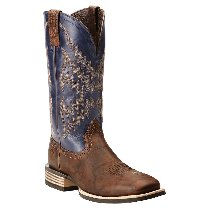 10014023 Men's Ariat Tombstone Square Toe Cowboy Boot