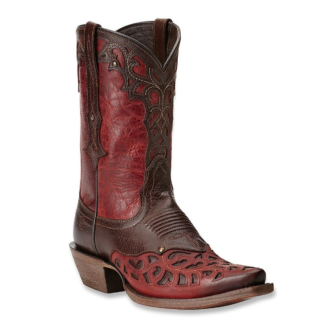 10014095 Women's Ariat Vera Cruz Overlay Cowgirl Boot