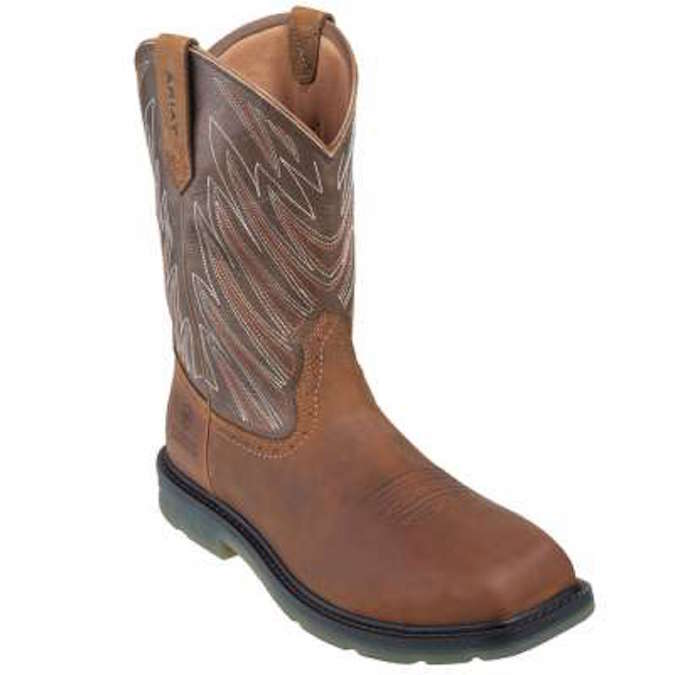 10015546 Men's Ariat Maverick Square Safety Toe Work Boot