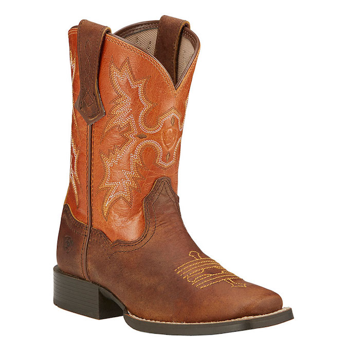 10016227 Kid's Ariat Tombstone Cowboy Boot