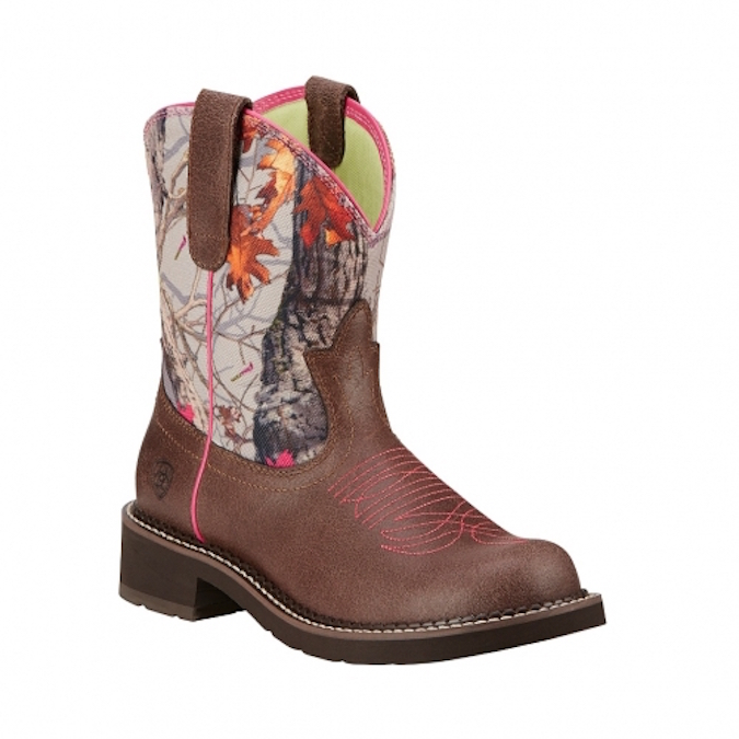 10016229 Women's Ariat Fatbaby Hot Leaf Boot