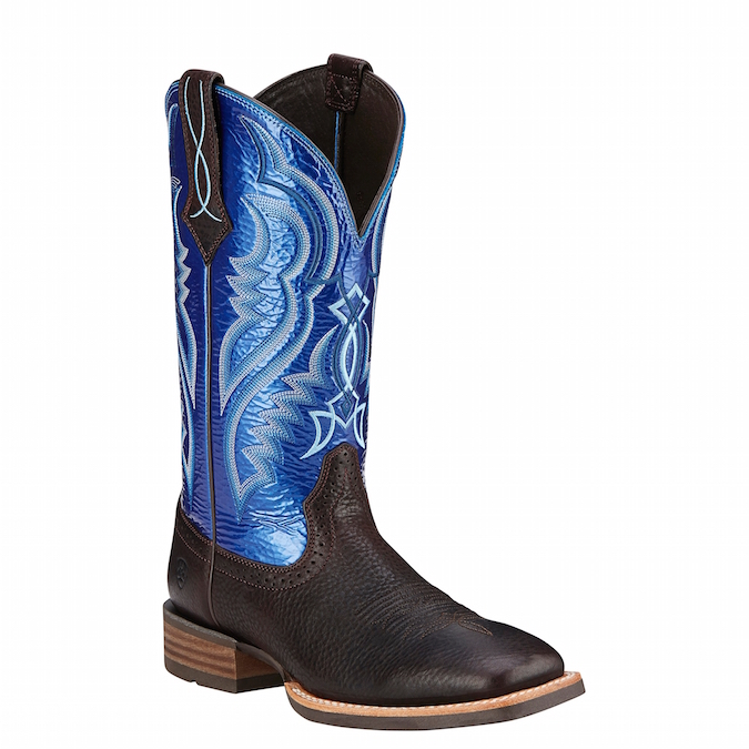 10016284 Men's Ariat Fast Time Roper Cowboy Boot