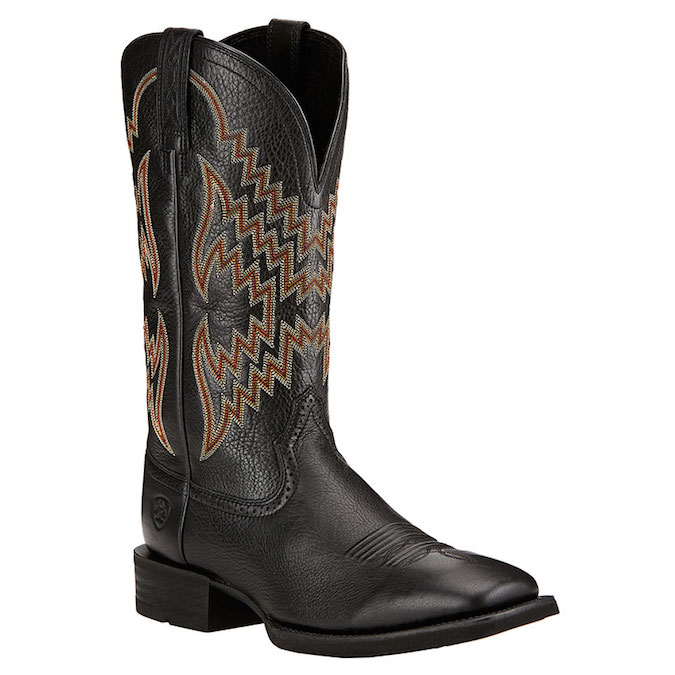 10017328 Men's Ariat Tycoon Square Toe Cowboy Boot