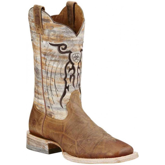 10018306 Men's Ariat Mesteno Square Toe Cowboy Boot