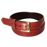 "1013 Men's 3D 1 1/2"" Tan Western Basic Belt"