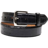 "1050 Men's 3D 1 1/2"" Black Dress Belt"