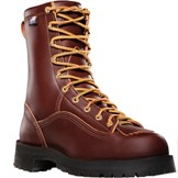 10600 Men's Danner Rain Forest� Brown Plain Toe Work Boot