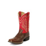 RR1103 Men's Tony Lama 3R Sorrel Shoulder Grain Cowboy Boot