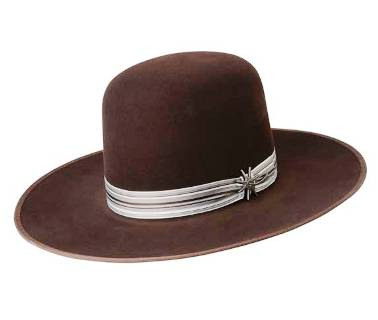 W1203D Chocolate Bannon Cowboy Hat by Bailey