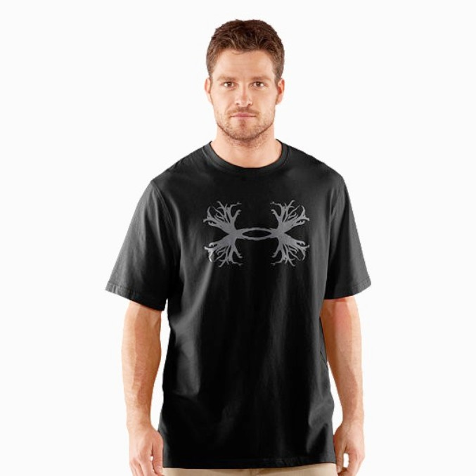 1226787 Men's Under Armour UA Hunt Antler Logo T-Shirt