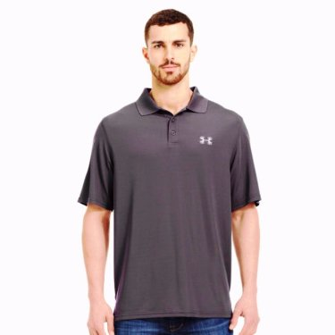1230175 Men's Under Armour Antler Logo Performance Polo