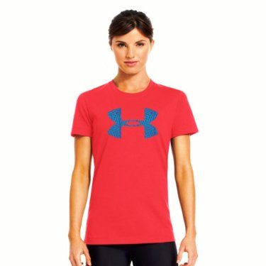 1239910 Women's Under Armour UA Hitch Print Logo T-Shirt