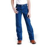13MWZBP Boy's (8-18) Wangler Prewashed Cowboy Cut Original Fit