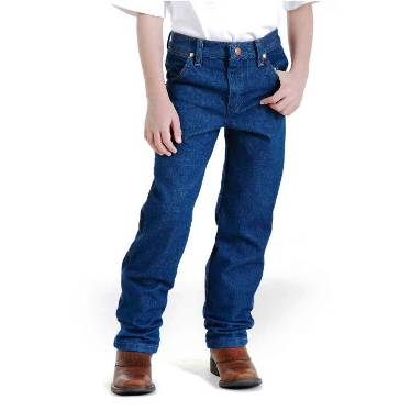 13MWZJP Boy's (1-7) Wrangler Prewashed Cowboy Cut� Original Fit
