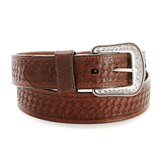"GB162 Men's Georgia 1 1/2"" Brown Work Belt"
