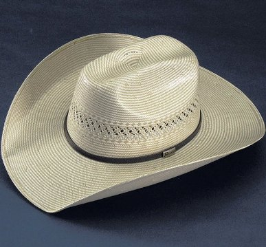 Abilene Low Crown with Chocolate Bound Edge Cowboy Hat by Atwood
