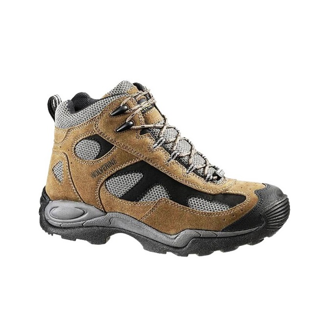 2072 Men's Wolverine Slip Resistant Steel-Toe Athletic Shoe