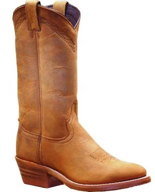 2104 Men's Abiline Dirty Brown Cowhide Cowboy Boot