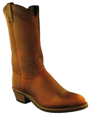 "2110 Men's 12 "" Abilene Briar Oiled Cowhide Cowboy Boot"