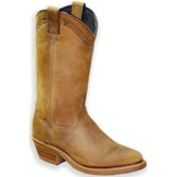 2124 Women's  Abilene Brown Cowhide Cowboy Boot
