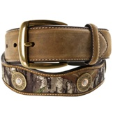 N24372222 Men's Nocona Mossy Oak Deer Skull Overlay Belt