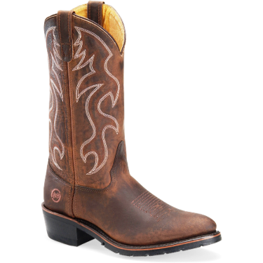 "2282 Men's Double H 12"" Domestic AG7� Work Western Boot"