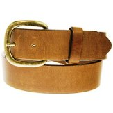 232CG Men's Justin Brown Leather Belt